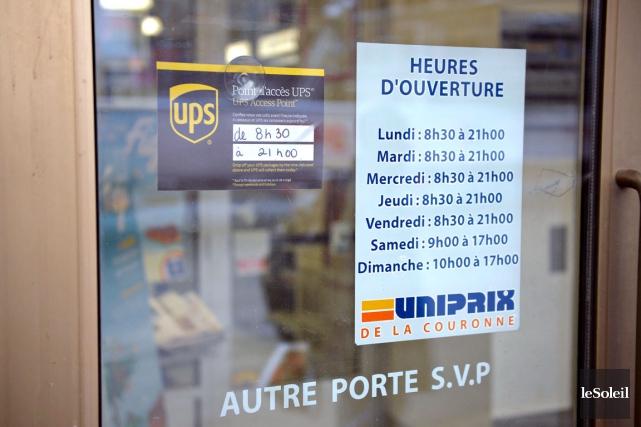 La cible de prédilection de UPS : les... (Le Soleil, Pascal Ratthé)