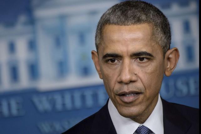 Barack Obama... (PHOTO BRENDAN SMIALOWSKI, ARCHIVES AFP)