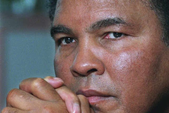 Mohamed Ali... (PHOTO ARCHIVES ASSOCIATED PRESS)