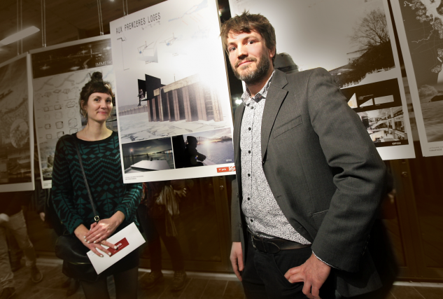 Stéphanie Plourde et Alexis Naylor... (Photo fournie par Marc-André Grenier)