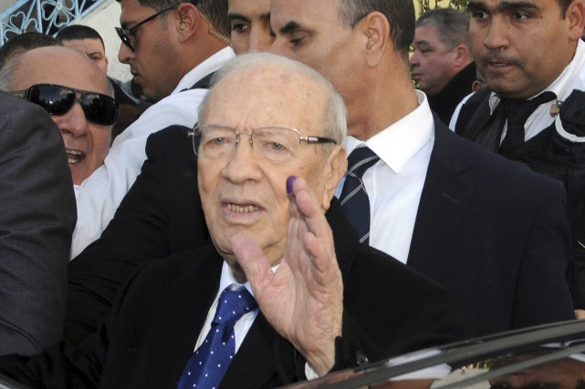 Béji Caïd Essebsi... (Photo Hassene Dridi, AP)
