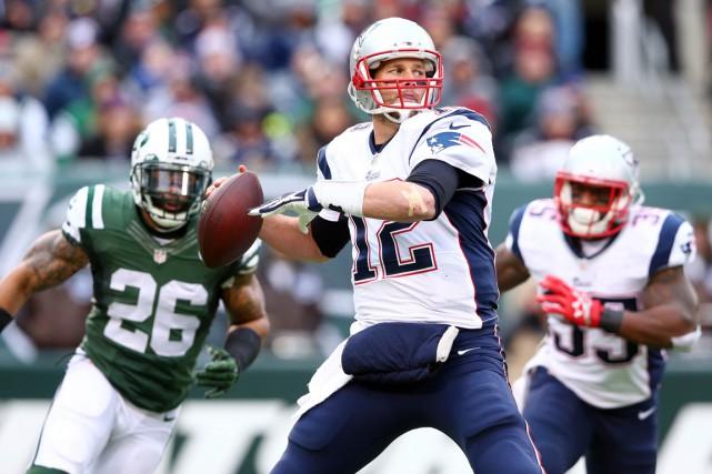 Tom Brady... (PHOTO BRAD PENNER, USA TODAY)