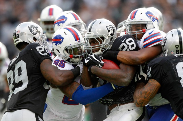 Les Raiders connaissent la deuxième plus longue disette... (Photo Cary Edmondson, USA TODAY Sports)