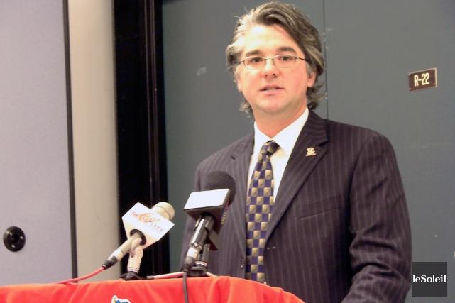 Steve Ahern, le directeur général du Drakkar de... (Photothèque Le Soleil)