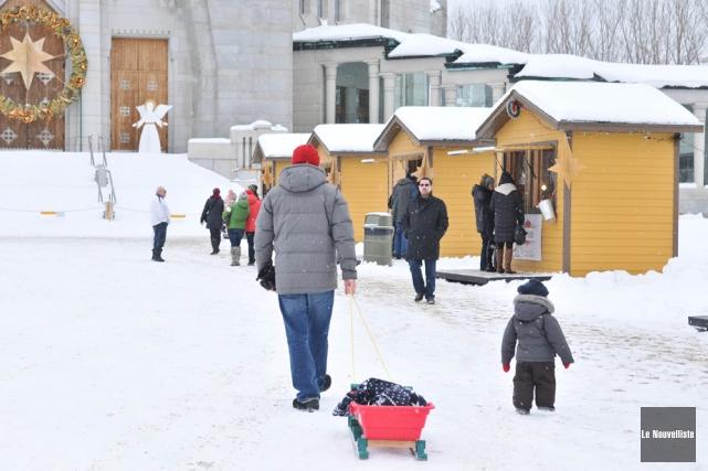 Déménagées cette année du parc Champlain où elles... (Photo: Émilie O'Connor, Le Nouvelliste)