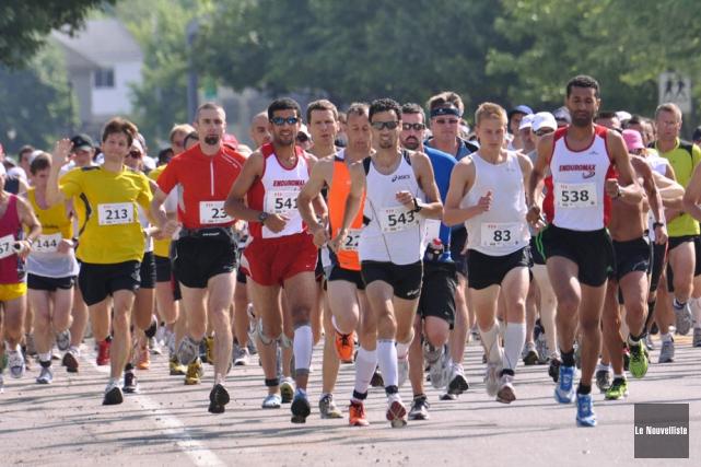 Le Demi-marathon Marcel-Jobin demeure l'une des courses les... (Photo: Émilie O'Connor, Le Nouvelliste)