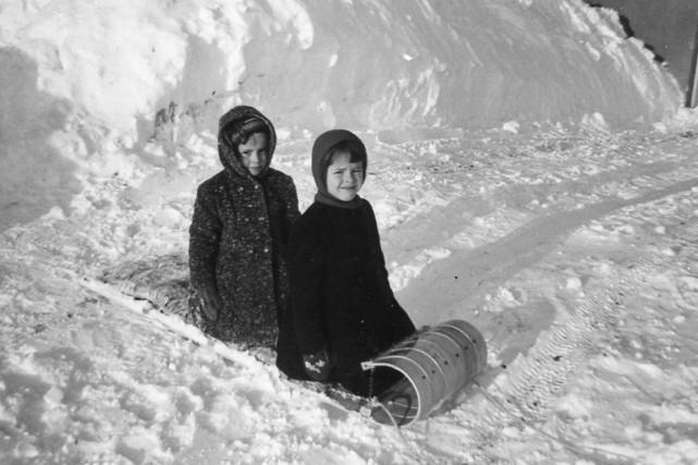 Michèle Ouimet et sa soeur Nicole. Avec seulement... (Photo fournie par Michèle Ouimet)