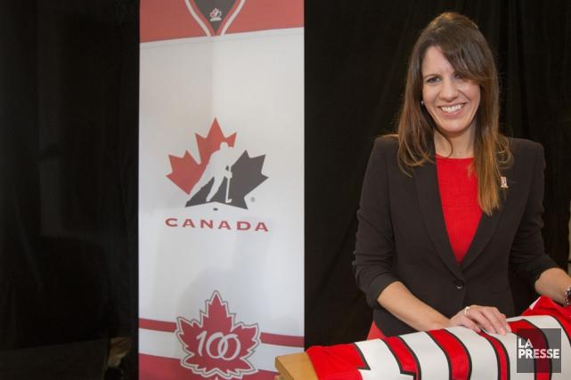 La directrice générale du Championnat mondial junior de... (Photo: La Presse)