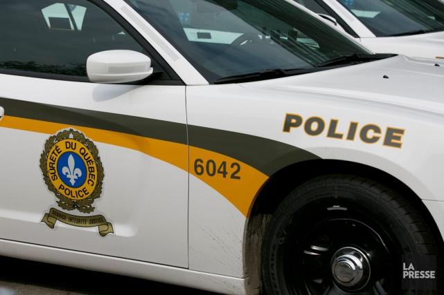 Deux suspects viennent d'être arrêtés à propos d'un vol qualifié survenu dans... (Photothèque La Presse)
