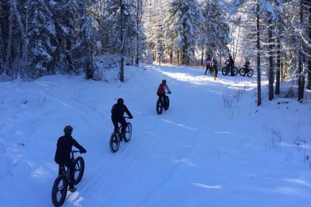 La pratique du vélo sur neige, connu par les amateurs sous le terme