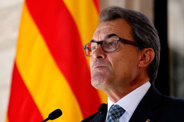 Le président catalan Artur Mas.... (PHOTO ARCHIVES REUTERS)
