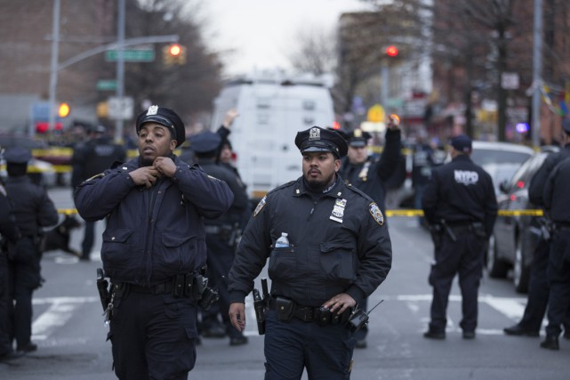 Les services de police et les syndicats demandent... (Photo Kevin Hagen, The New York Times)