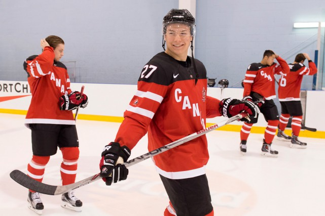 Lazar a joué pour le Canada au Championnat... (PHOTO: FRANK GUNN, LA PRESSE CANADIENNE)