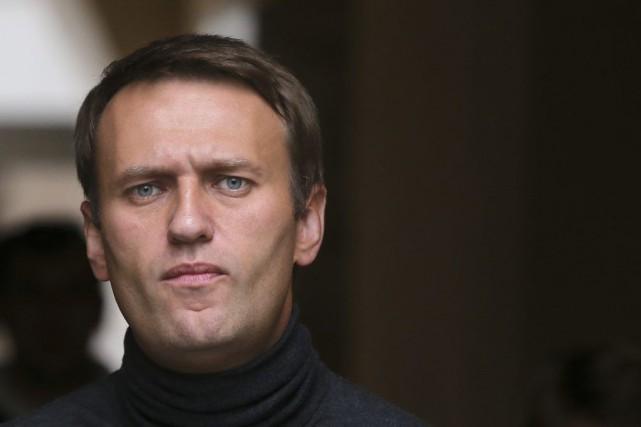 L'opposant numéro un au Kremlin, Alexeï Navalny.... (PHOTO SERGEI GRITS, ARCHIVES AP)