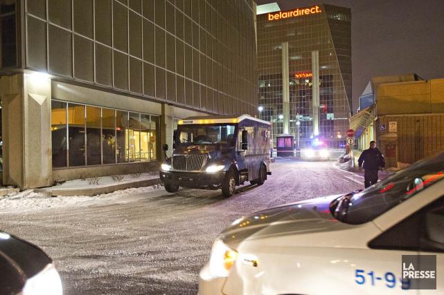 Les attaques sur des camions Garda se répètent... (PHOTO FÉLIX O.J. FOURNIER, COLLABORATION SPÉCIALE)