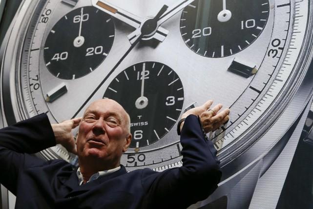 Le patron deTag Heuer,Jean Claude Biver,dit ne pas... (PHOTO ARND WIEGMANN, REUTERS)