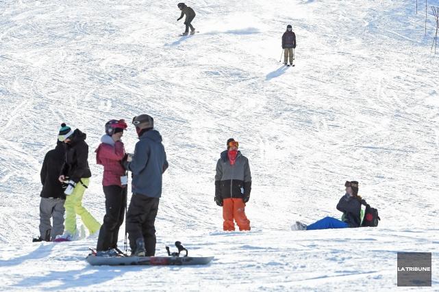 Les stations de ski de la région connaissent un bon début de saison, mais tout... (Archives La Tribune)