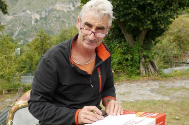 Hervé Gourdel, guide de haute montagne de 55... (PHOTO ARCHIVES AFP)