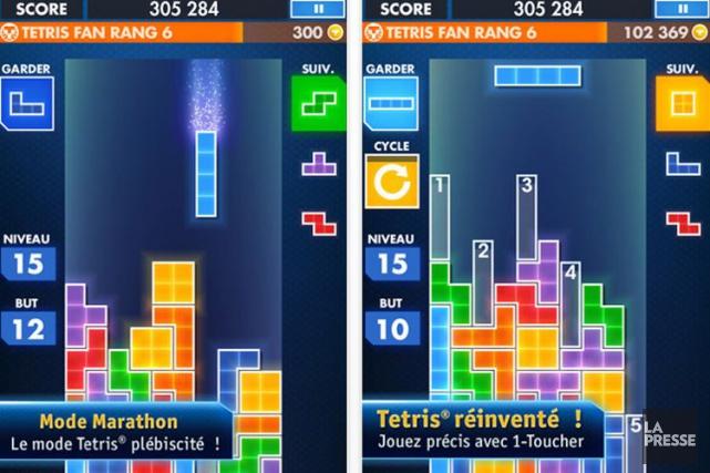 Créé en 1984,Tetrisest devenu l'un des jeux vidéo... (Photo Archives La Presse)
