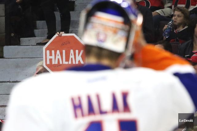 Les Islanders de New York n'ont pas hésité... (PHOTO: PATRICK WOODBURY, LE DROIT)