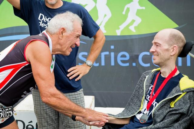 Roland Robichaud, le gagnant de la dernière édition... (Photo courtoisie Geneviève Arsenault)