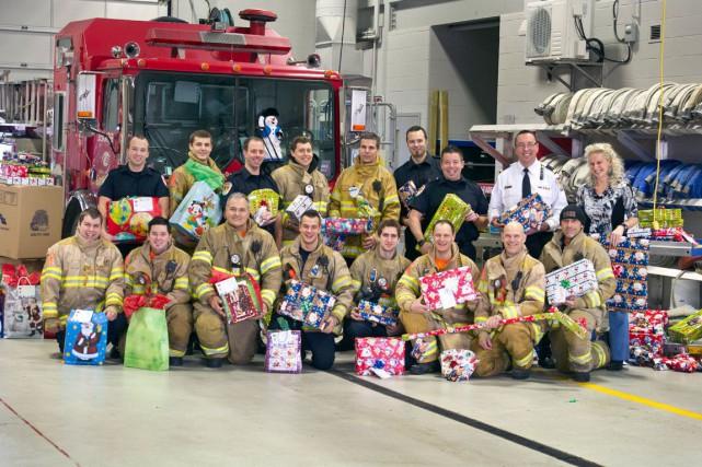 Organisée par l'Association des pompiers et pompières de Gatineau (APPG), en... (Martin Roy, LeDroit)
