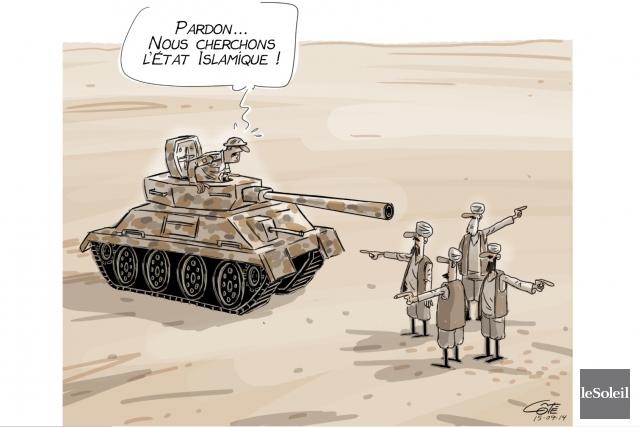 La montée de l'État islamique est l'événement majeur de l'année sur la scène... (Le Soleil, André-Philippe Côté)