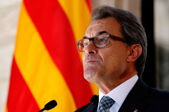 Le président catalan Artur Mas.... (PHOTO ARCHIVES REUTERS)