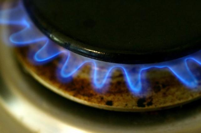 Le cours du gaz naturel affiche un recul d'environ 30 % en un peu plus d'un... (Photo Archives Bloomberg)