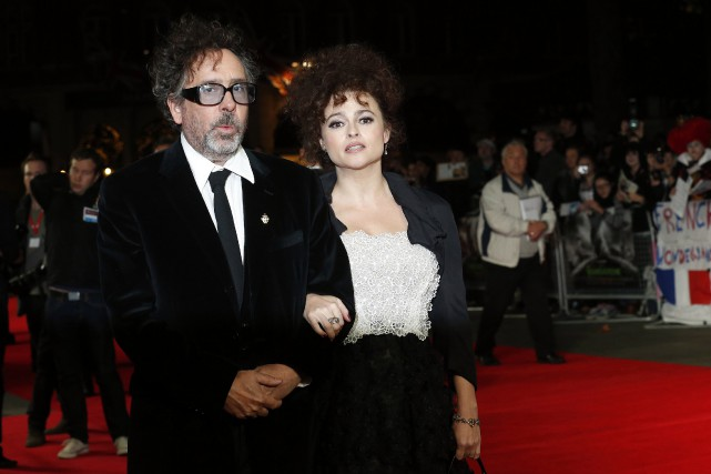 Tim Burton et Helena Bonham Carter... (Photo archives Reuters)