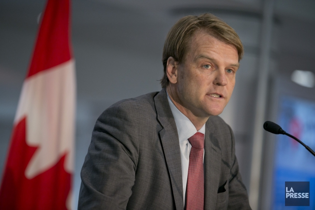Le ministre canadien de l'Immigration, Chris Alexander... (PHOTO DAVID BOILY, ARCHIVES LA PRESSE)