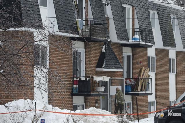 Le sinistre a éclaté aux environs de 2... (Photo Ryan Remiorz, La Presse Canadienne)