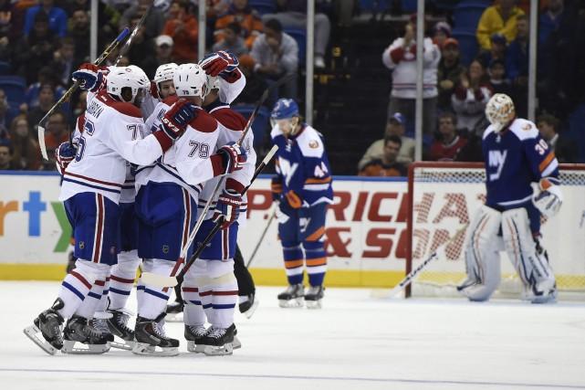 Le Canadien de Montréal pourra entamer la pause de Noël avec l'esprit reposé. (Photo AP)