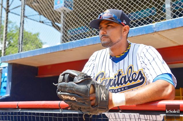 Le voltigeur cubain Yuniesky Gurriel a de fortes... (Photothèque Le Soleil, Erick Labbé)