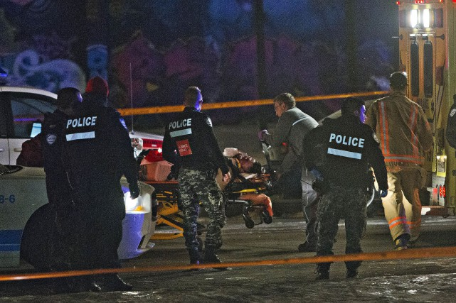 Un homme de 24 ans a été mortellement... (PHOTO FÉLIX O.J. FOURNIER, COLLABORATION SPÉCIALE)