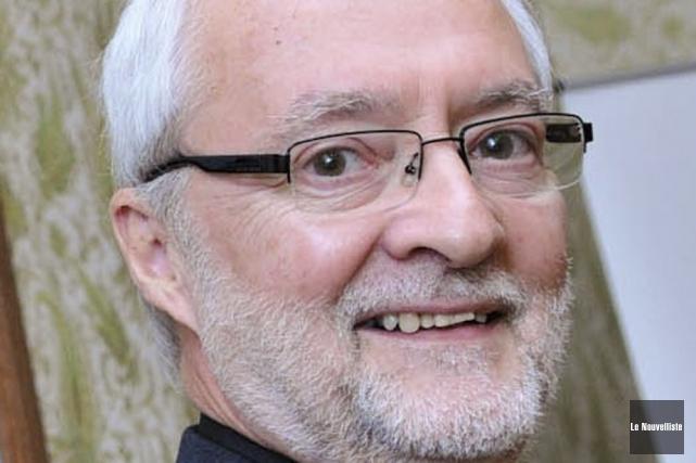 Mgr Luc Bouchard, évêque de Trois-Rivières.... (Photo: Émilie O'Connor, Le Nouvelliste)