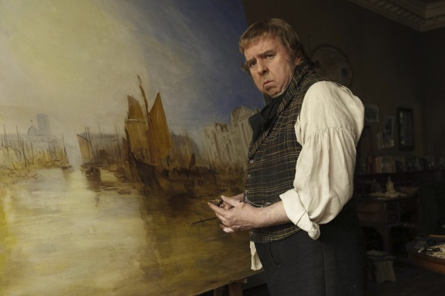 Timothy Spall a remporté un prix à Cannes... (Photo fournie par La Presse Canadienne)