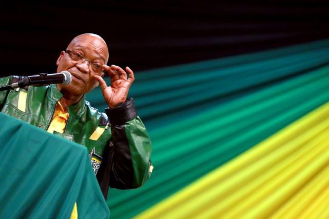 Jacob Zuma, 72 ans,a actuellement quatre épouses et... (PHOTO RAJESH JANTILA, ARCHIVES AFPP)
