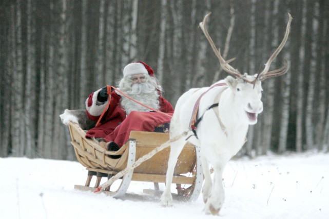 Le livre de motivation Santa's Dream racontera le... (Photo Kacper Pempel, Archives Reuters)