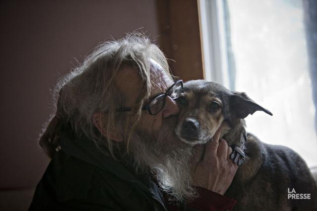 Avec sa meute à nouveau à ses côtés,... (Photo Patrick Sanfaçon, La Presse)