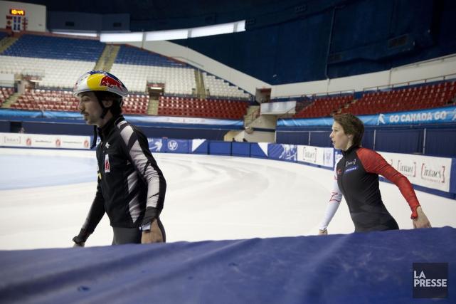 Charles Hamelin et Marianne St-Gelais... (PHOTO FRANCOIS ROY, ARCHIVES LA PRESSE)