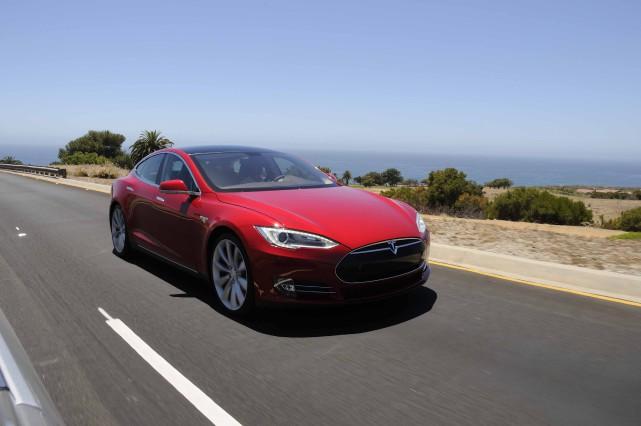 La version la moins chère de la Tesla... (Photo fournie par Tesla)