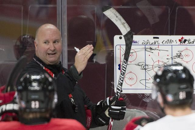 Avec Équipe Canada junior, Benoît Groulx a l'occasion... (Photo Graham Hughes, PC)