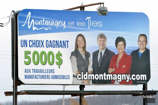 La stratégie de la MRC de Montmagny pour... (Le Soleil, Jean-Marie Villeneuve)