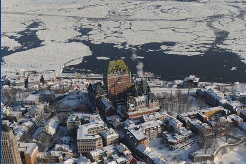 Le fleuve Saint-Laurent pourrait déjà avoir été le...
