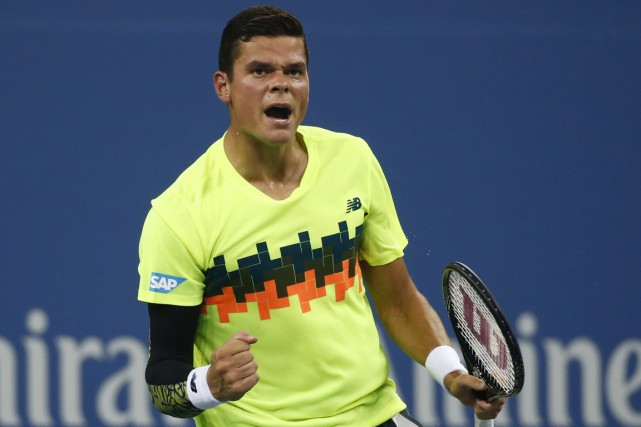 Milos Raonic... (PHOTO ADAM HUNGER, ARCHIVES REUTERS)