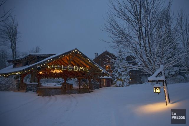 Un mastodonte? Oui. Le Whiteface Lodge compte 94... (PHOTO IVANOH DEMERS, LA PRESSE)