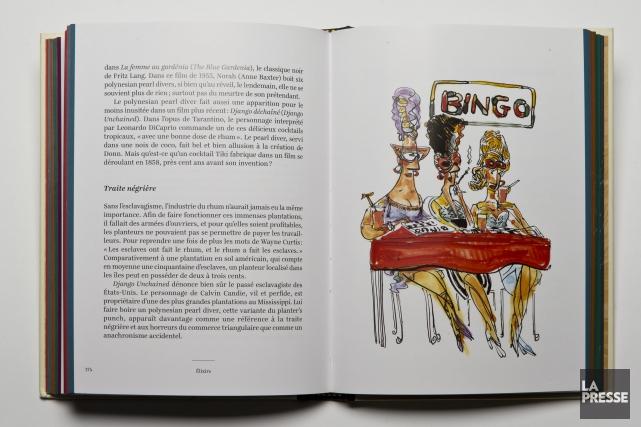 Élixirs: une petite histoire illustrée des cocktails, de... (Photo Hugo-Sébastien Aubert, La Presse)