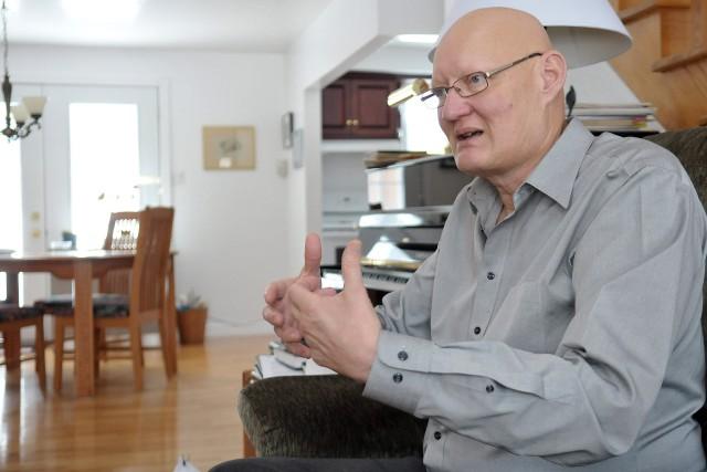 Le professeur Claude Villeneuve, titulaire de la Chaire... ((Archives))