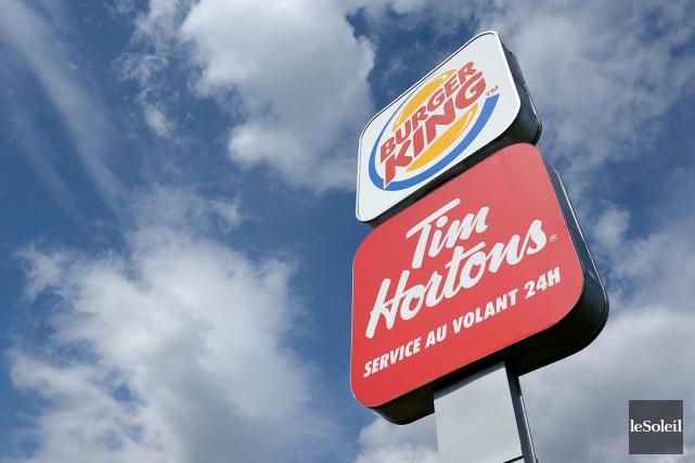 Les actionnaires de la société mère de Tim Hortons et Burger King ont rejeté... (Photo Patrice Laroche, Archives Le Soleil)